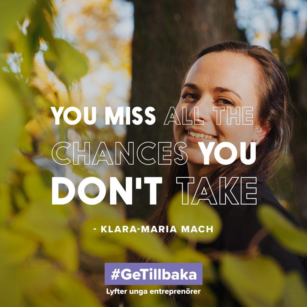 Klara-Maria Mach, #getillbaka